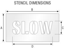 Stencil ST 0074