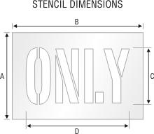 Stencil ST 0125