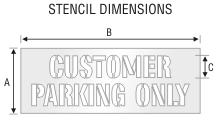 Stencil ST 0193