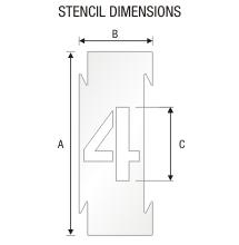 Stencil ST 0263