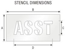 Stencil ST 0266