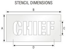 Stencil ST 0269