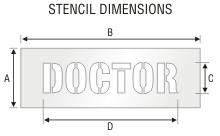 Stencil ST 0270