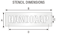 Stencil ST 0273
