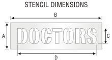 Stencil ST 0279