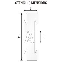 Stencil ST 0284