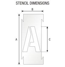 Stencil ST 0286