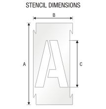 Stencil ST 0287