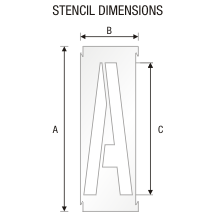 Stencil ST 0290
