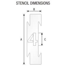 Stencil ST 0291