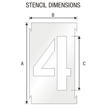 Stencil ST 0295