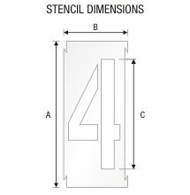 Stencil ST 0296
