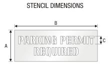 Stencil ST 0324