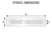 Stencil ST 0325
