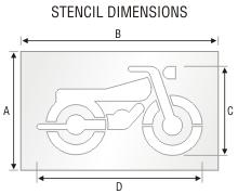 Stencil ST 0332