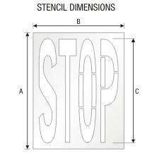 Stencil ST 0335