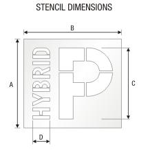 Stencil ST 0380