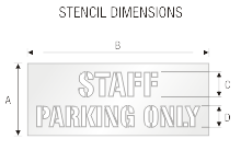 Stencil ST 0381