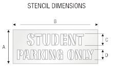 Stencil ST 0382