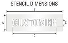 Stencil ST 0415