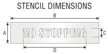 Stencil ST 0443