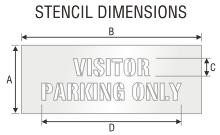 Stencil ST 0450