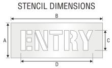 Stencil ST 0478