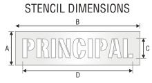 Stencil ST 0481