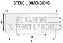Stencil ST 0486