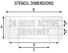 Stencil ST 2055