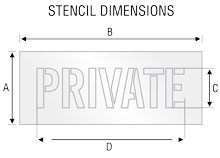 Stencil ST 2110