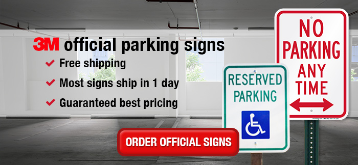 Official Parking Signs