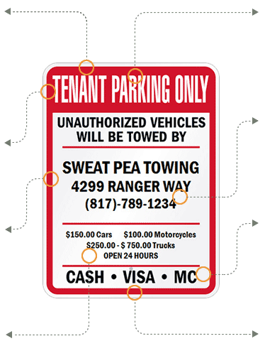 Tenant Tow Parking