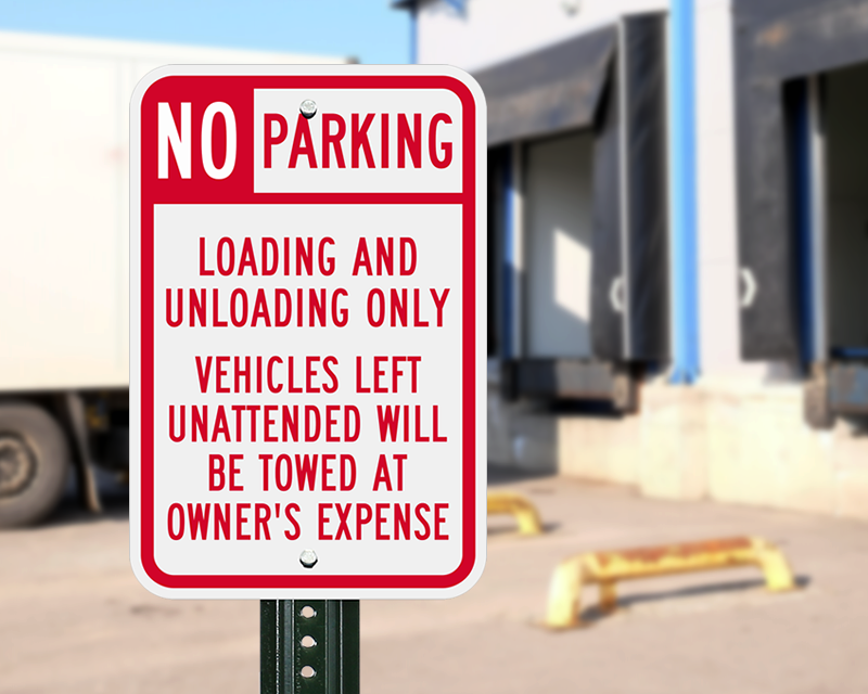 Loading and Unloading Zones