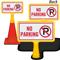 No Parking ConeBoss Sign