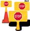 Stop Symbol ConeBoss Sign