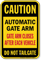Automatic Gate Arm Closes After Each Vehicle Sign