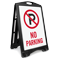 No Parking Portable Sidewalk Sign