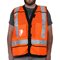 Reflective Safety Vest Orange
