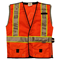 LED Safety Vest Orange